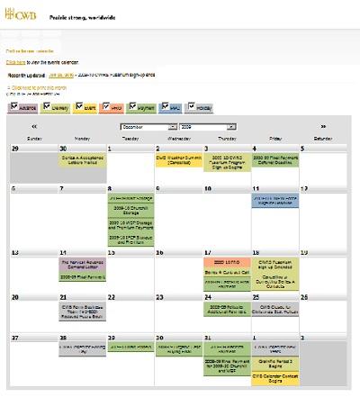 Javascript Calendar